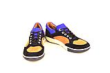 Кросівки підліткові натуральна шкіра зі вставками із замші від виробника KARMEN, фото 2