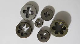 Плашки для дюймової різьби UNC, UNF, BSW, BSF, UNEF.