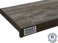 Подоконник Kraft серый дуб
