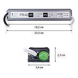 Блок питания OEM DC12 45W 3,75А FTR-45-12 WP герметичный, фото 2