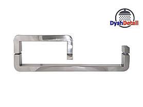 Ручка для дверей душевой кабины на три отверстия ( H-646 ) Металл, фото 2