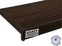 Подоконник Kraft тёмный дуб