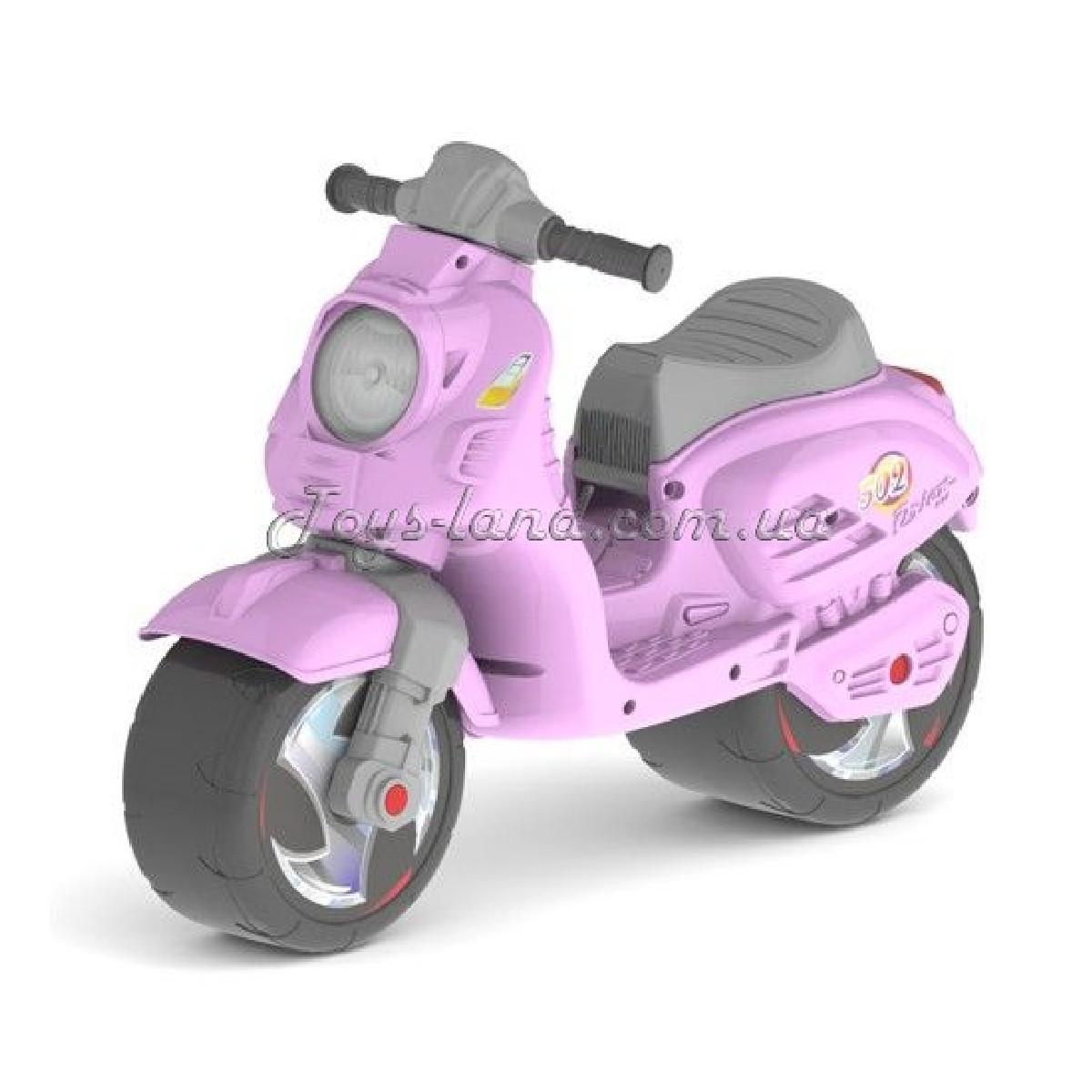 Скутер рожевий, арт. 502Рожев, Оріон