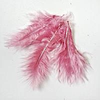 Перо пушистое. Пыльно-розовый. 5 штук.