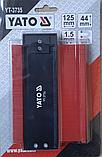 Шаблон профілів 125мм YATO, фото 4