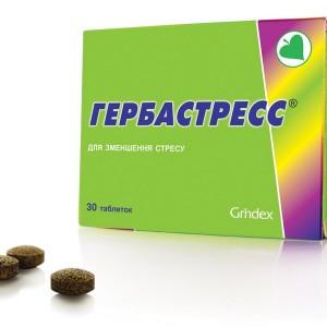 БАД Гербастресс таблетки (30табл.,Латвия)