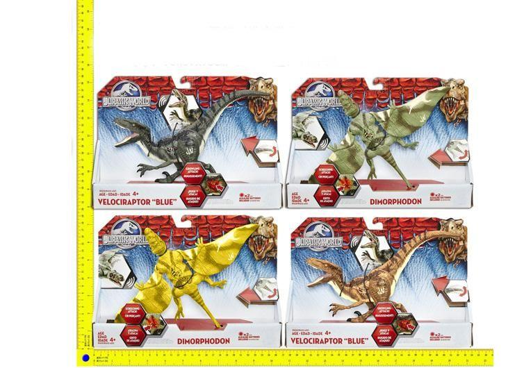 Животные 9655B (144шт/2) 4 вида, динозавры, в короб. 30*24см