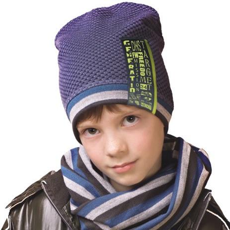 Демисезонные шапки для мальчиков