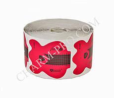 Розовые формы для наращивания ногтей в рулоне Salon  (500 шт.)