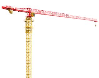 Башенный кран грузоподъемность: 8т, подъемный момент: 125 т/м, высота стояния: 60м
