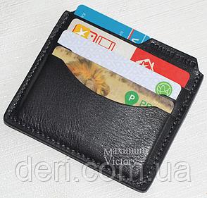 Card Case, кардхолдер чорний, фото 2