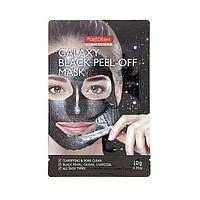 Маска-пленка для очищения пор Purederm Galaxy Black Peel-off Mask