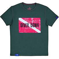 Футболка KLOST Diver Down 70.02 3XL Green