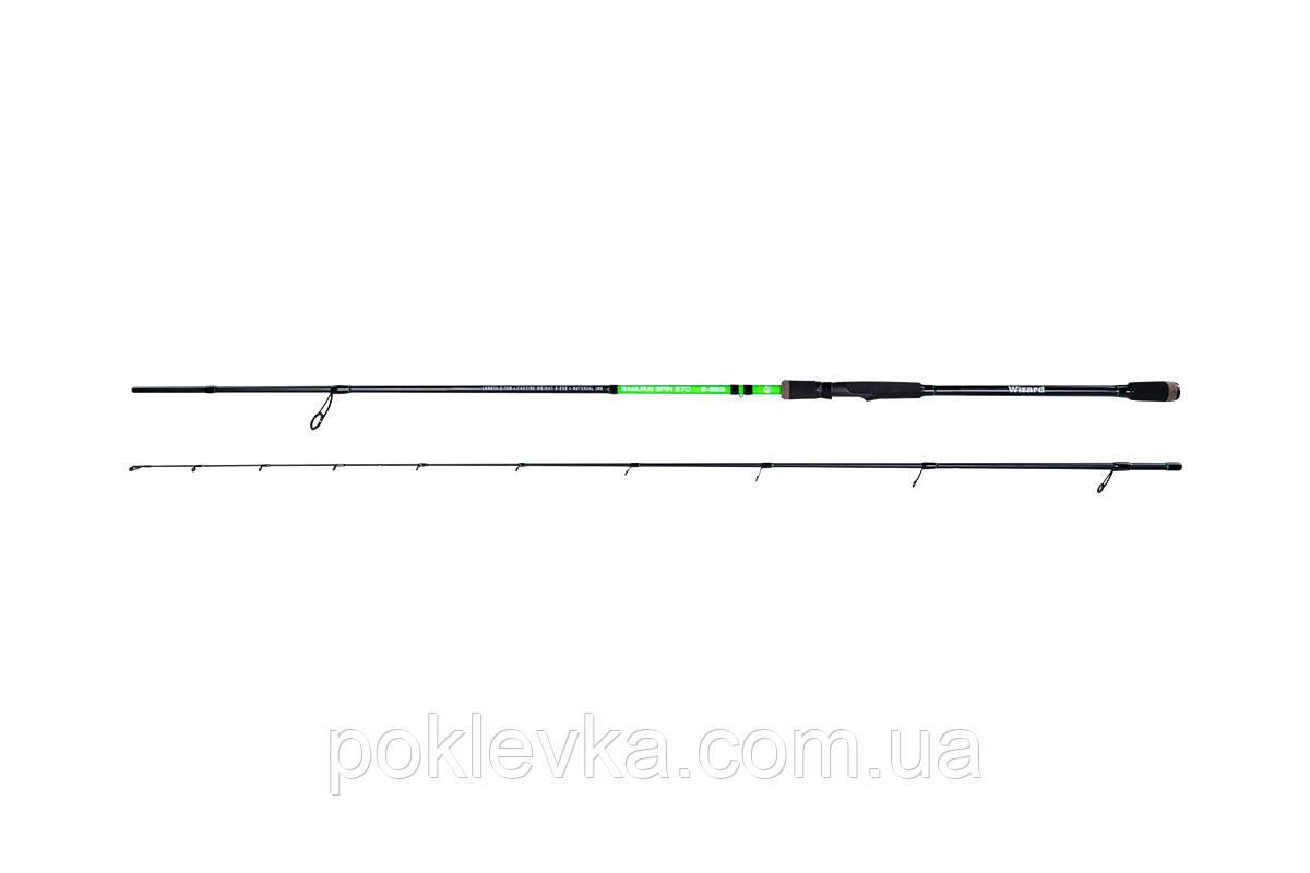 Спиннинг Wizard SAMURAI SA-WZ-210UL-S.IM9, 2,1м, 2-8г SOLID TIP