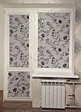 Рулонные шторы Романтик черный, фото 7