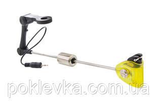 Свингер с подключением CARP EXPERT DELUXE LED SWINGER WITH ARM YELLOW
