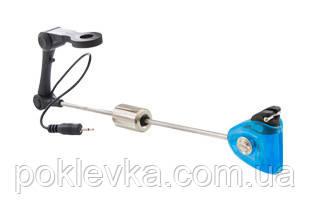 Свингер с подключением CARP EXPERT DELUXE LED SWINGER WITH ARM BLUE