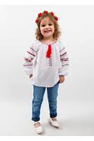 Детские вышиванки на девочек