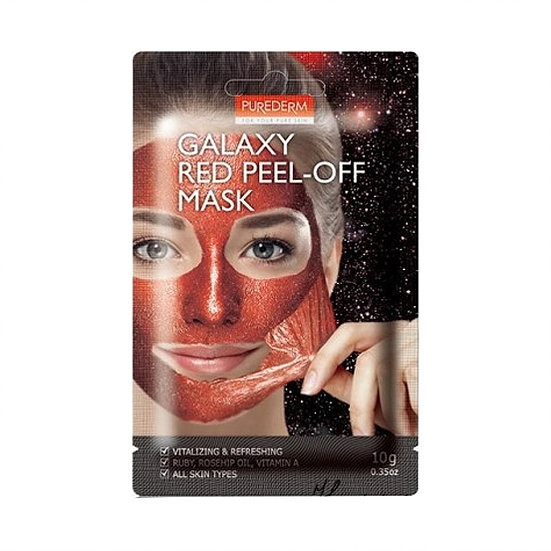Освежающая маска-пленка Purederm Galaxy Red Peel-off Mask
