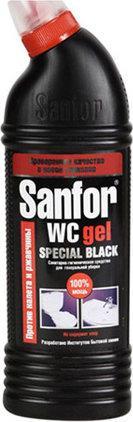 """Гель для туалету """"Sanfor"""" WC Gel Special Black 1000мл"""
