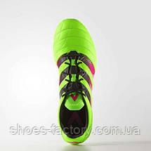 Бутсы Adidas ACE 16.1 FG/AG Leather, AF5099 (Оригинал), фото 3