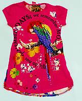 Модна туніка для дівчинки ріст 104 см, фото 1