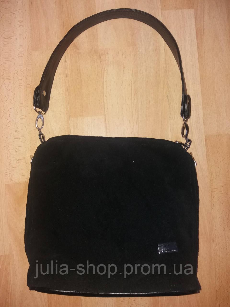 059fa45d9195 Жіноча сумка кроссбоді модель 554 замш кольори чорний, бордо синій зелений  - Интернет магазин одежды