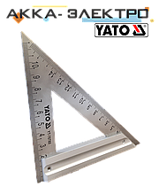 Угольник для плотника и столяра 170мм YATO