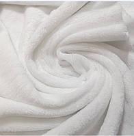 Махра велсофт белая, ширина 1,80 м, фото 1