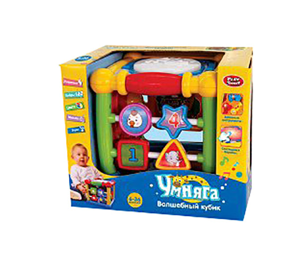 Муз разв.игрушка 7502 (12шт)барабан, изуч.геометр.фигур, муз.инструм, в кор. 22,7*17,5*19см