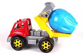 Детская машина Бетономешалка с двигающимися элементами 36х20х24 см.
