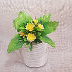 Букетик маленькой хризантемы NY 037 (30 шт./уп.) Искусственные цветы оптом, фото 5