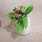 Букетик маленькой хризантемы NY 037 (30 шт./уп.) Искусственные цветы оптом, фото 7
