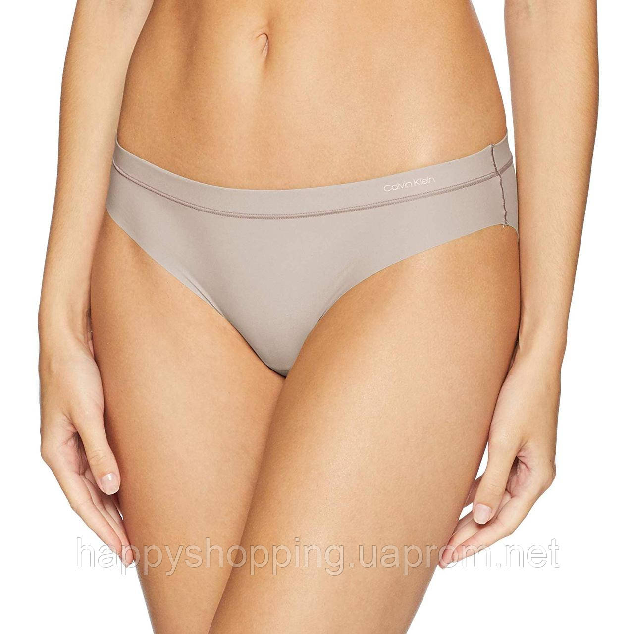 """Женские нюдовые трусики """"bikini"""" Calvin Klein"""