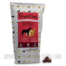 Корм GHEDA Dog&Dog Expert Energy для дорослих собак і активних, 20 кг