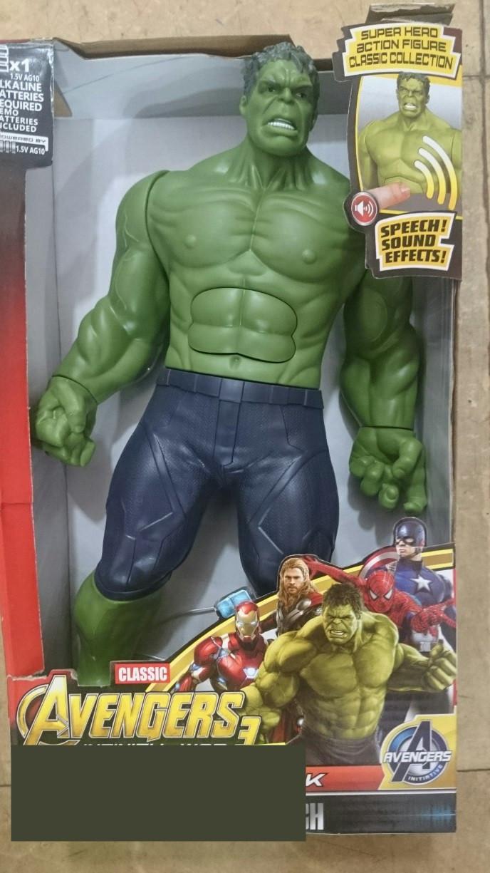 Фигурка супергероя Халк