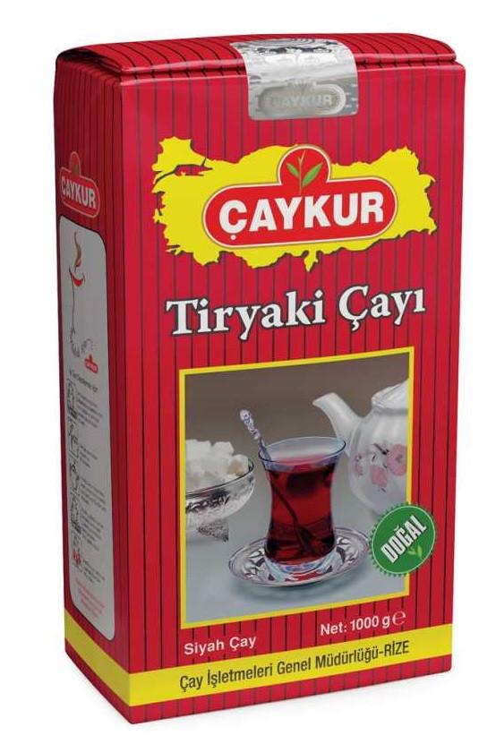Чай чёрный Caykur Tiryaki Cayi 1000г (мелколистовой)
