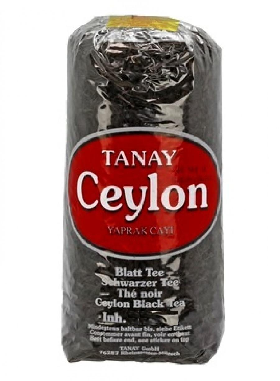 Чай чёрный Tanay Ceylon 1000г (крупнолистовой)