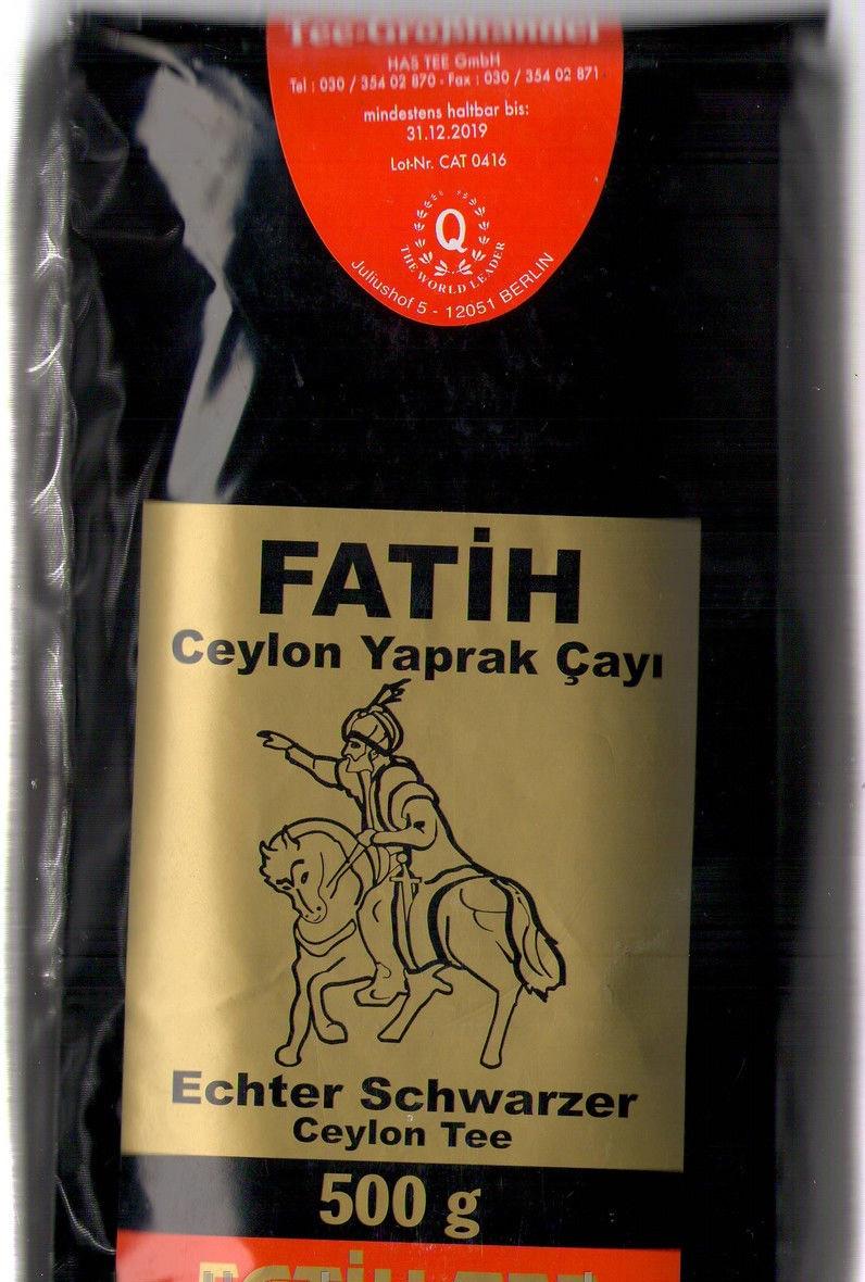 Чай черный Fatih-Tee FATIH 500 г (крупнолистовой)