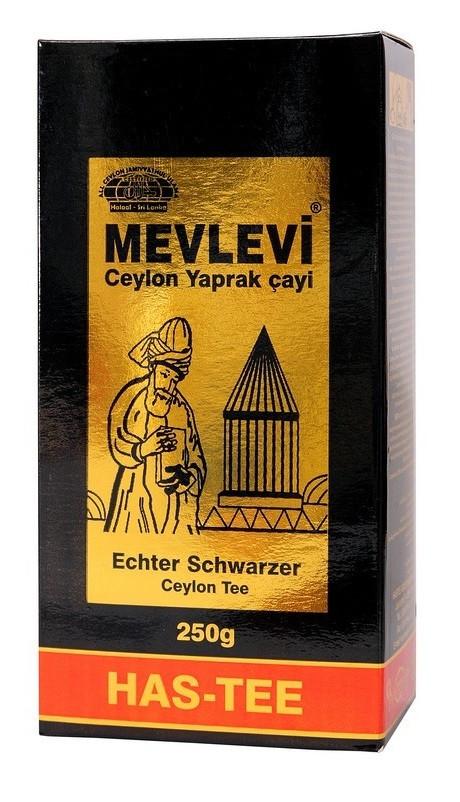 Чай чёрный с бергамотом MEVLEVI Has-Tee 250г (крупнолистовой)