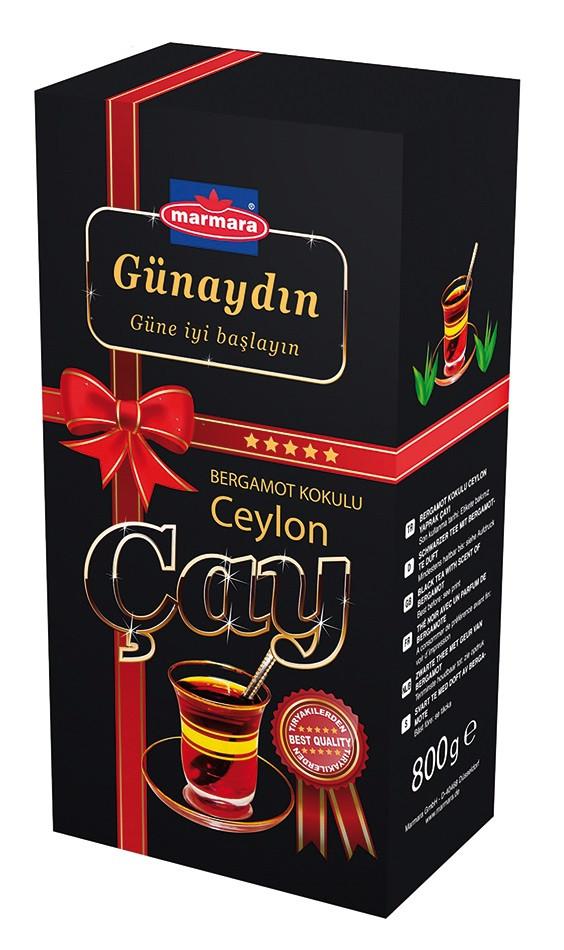 Чай черный Gunaydin Bergamot KoKuLu 400г (крупнолистовой)