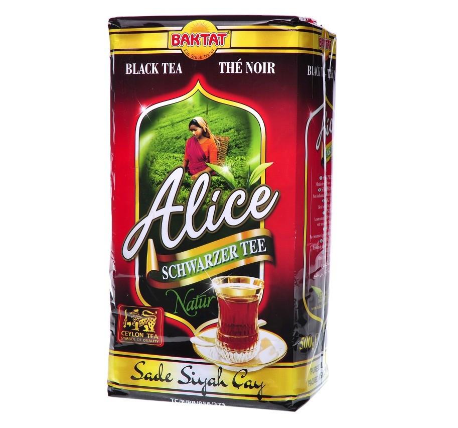Чай цейлонский BAKTAT Alice Natur 1000г (крупнолистовой)
