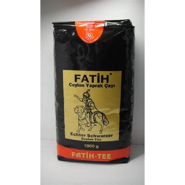 Чай чёрный Fatih-Tee «Fatih» 1000 г (Крупнолистовой)
