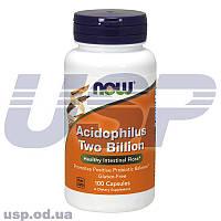 NOW Aloe 10,000 & Probiotics Ацидофилус комплекс ацидофильных бактерий пробиотики спортивное питание