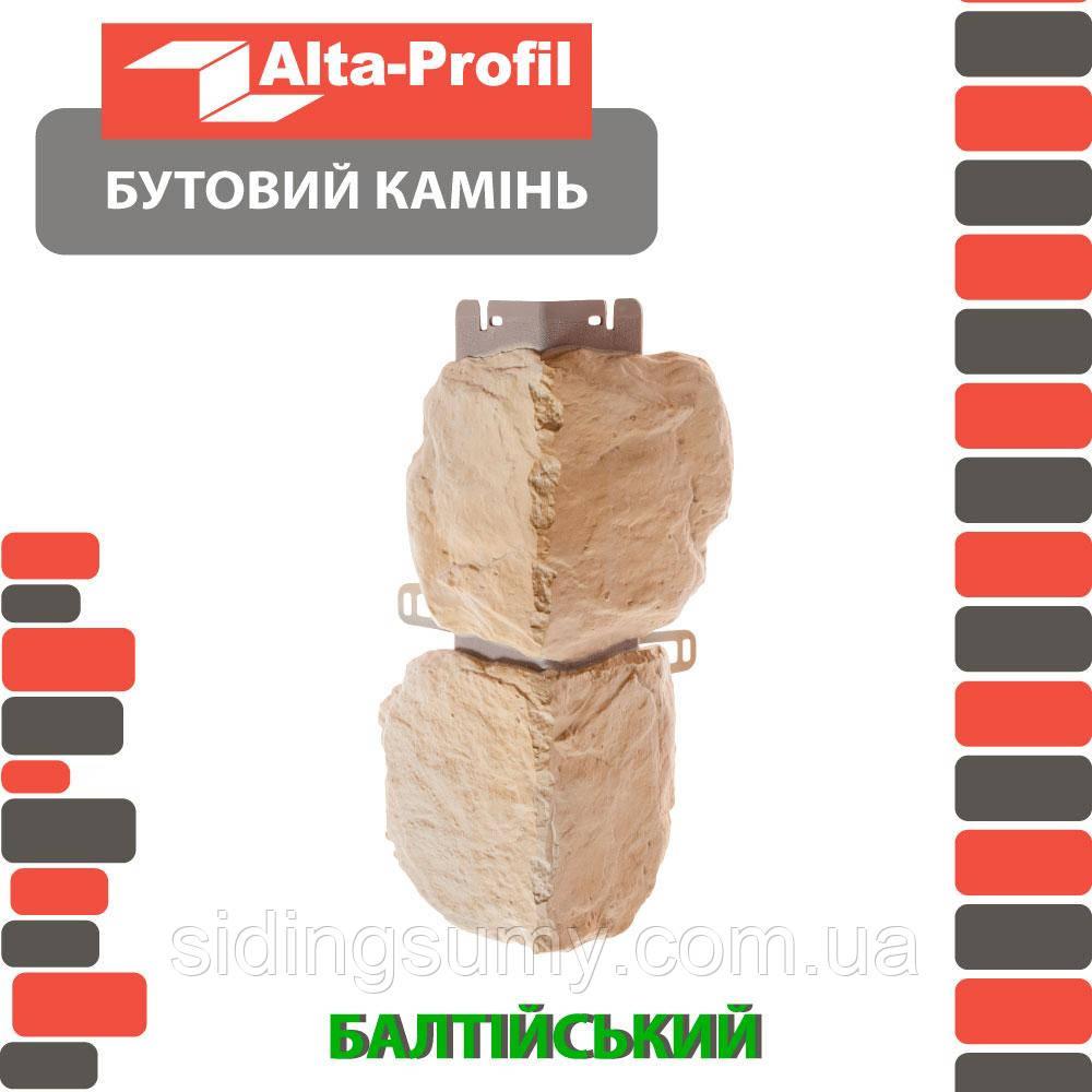Зовнішній кут Альта-Профіль Бутовий камінь 0,472х0,112 м Балтійський