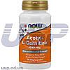NOW Acetyl-L-Carnitine 500 mg л-карнитин жиросжигатель для похудения снижения веса спортивное питание
