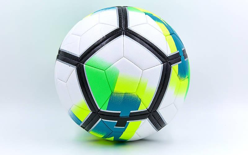 Мяч футбольный №5 PU ламинированный Клееный PREMIER LEAGUE 2018 La Liga FB-6654