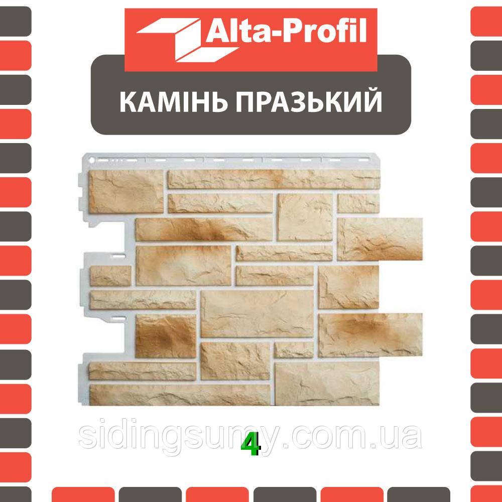 Фасадна панель Альта-Профіль Камінь Празький 795х591х20 мм колір 04