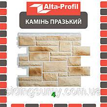 Фасадная панель Альта-Профиль Камень Пражский 795х591х20 мм цвет 04