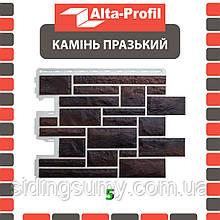 Фасадная панель Альта-Профиль Камень Пражский 795х591х20 мм цвет 05